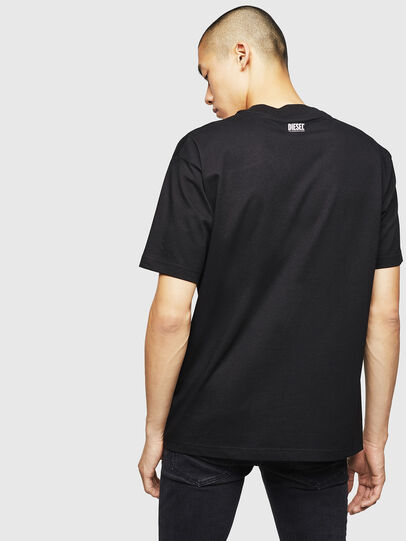 Diesel - T-LUCAS-NML-B1, Black - T-Shirts - Image 2