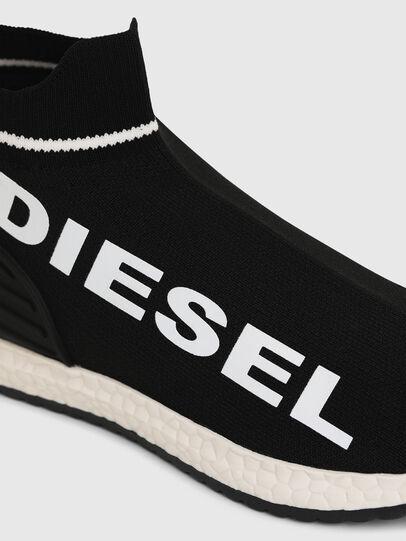 Diesel - SLIP ON 03 LOW SOCK, Black - Footwear - Image 4