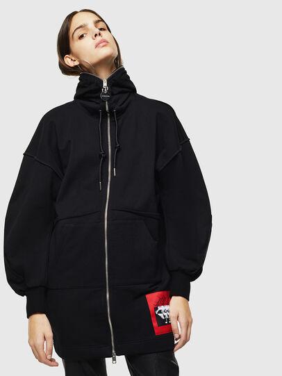 Diesel - F-HALLY, Black - Sweaters - Image 1