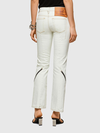 Diesel - D-Ebbey 009ZA, White - Jeans - Image 2