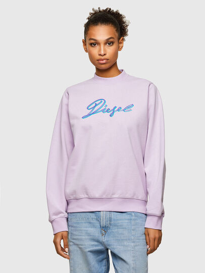 Diesel - F-ANG-K15, Lilac - Sweaters - Image 1