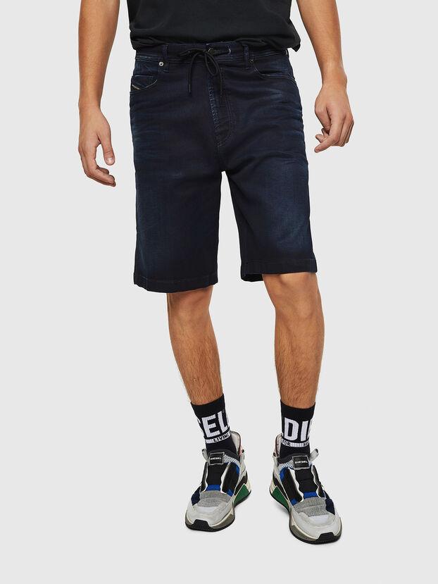 D-WILLOH CB JOGGJEANS, Dark Blue - Shorts