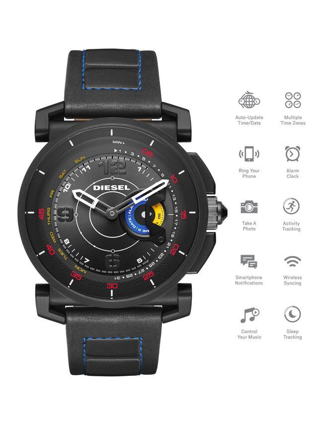 Diesel - DT1001, Black - Smartwatches - Image 1