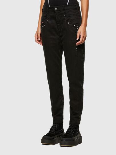 Diesel - FAYZA JoggJeans® 069NC, Black/Dark grey - Jeans - Image 5
