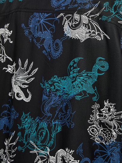 Diesel - S-BEACH, Black - Shirts - Image 4