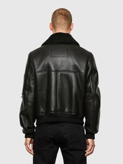Diesel - L-ARNOLD, Black - Leather jackets - Image 2