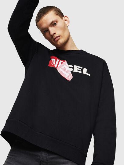 Diesel - S-SAMY, Black - Sweaters - Image 4