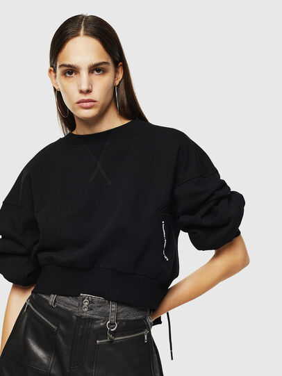 Diesel - F-MONDY, Black - Sweaters - Image 4