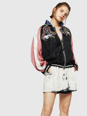 G-IOIO, Black/Pink - Jackets