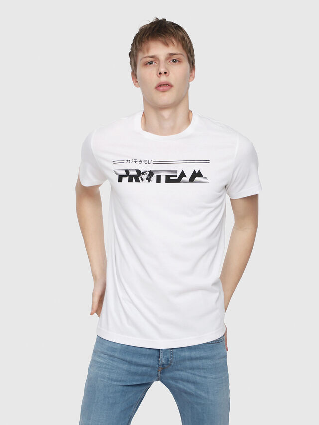 Diesel - T-DIEGO-YB, White - T-Shirts - Image 1