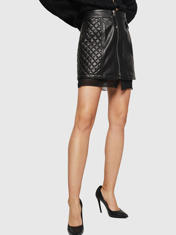 OLESIA,  - Leather skirts