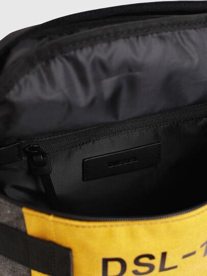 Diesel - PIEVE, Black/Yellow - Backpacks - Image 6