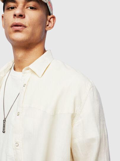 Diesel - S-PLAN-B, White - Shirts - Image 3