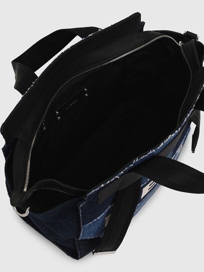Diesel - F-CAORLY SATCHEL M, Blue - Satchels and Handbags - Image 7