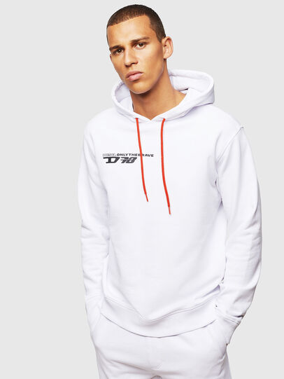 Diesel - UMLT-BRANDON, White - Sweaters - Image 1