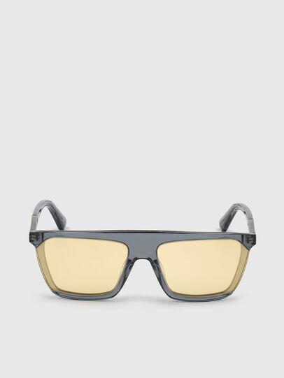 Diesel - DL0323, Black/Yellow - Sunglasses - Image 1