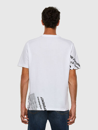 Diesel - T-JUST-FOLDED, White - T-Shirts - Image 7