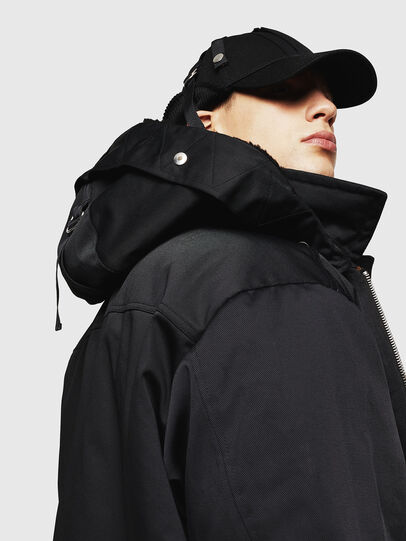 Diesel - W-PELSTIC,  - Winter Jackets - Image 4