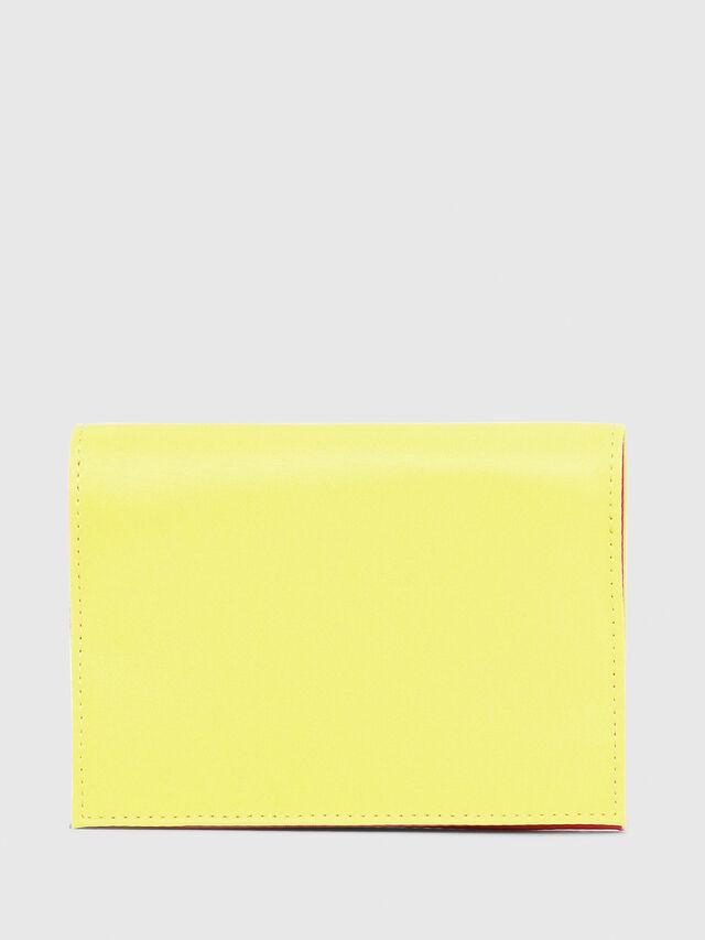 Diesel - PASSPORT, Yellow - Continental Wallets - Image 2
