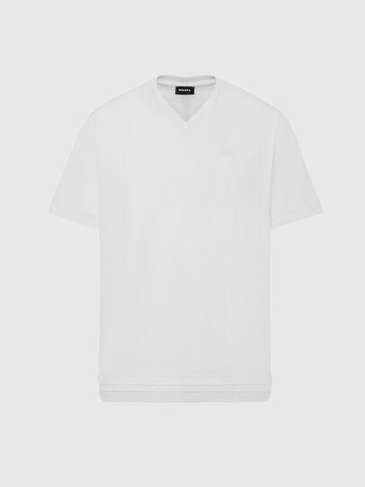 Diesel - T-CHERUBIK-NEW2, White - T-Shirts - Image 1