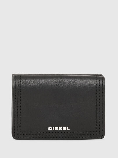 Diesel - LORETTINA, Black - Small Wallets - Image 1