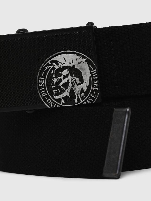 Diesel - B-BUZYY II, Black - Belts - Image 2