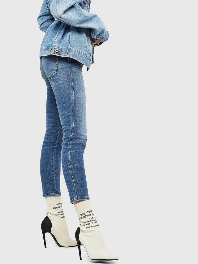 Diesel - Babhila 086AP, Light Blue - Jeans - Image 4