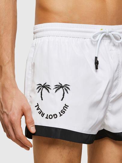 Diesel - BMBX-SANDY 2.017, White - Swim shorts - Image 3