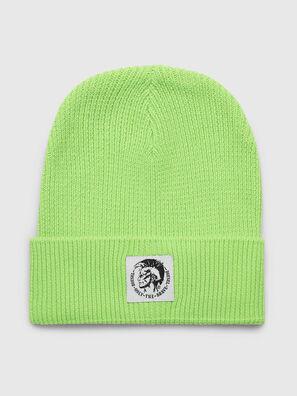K-CODER, Green Fluo - Knit caps