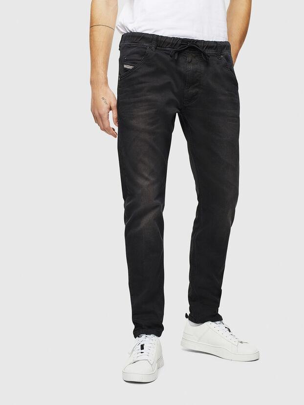 Krooley JoggJeans 0670M, Black/Dark grey - Jeans