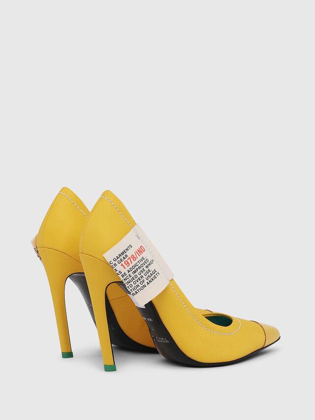 Diesel - D-SLANTY HPD, Yellow - Heels - Image 3