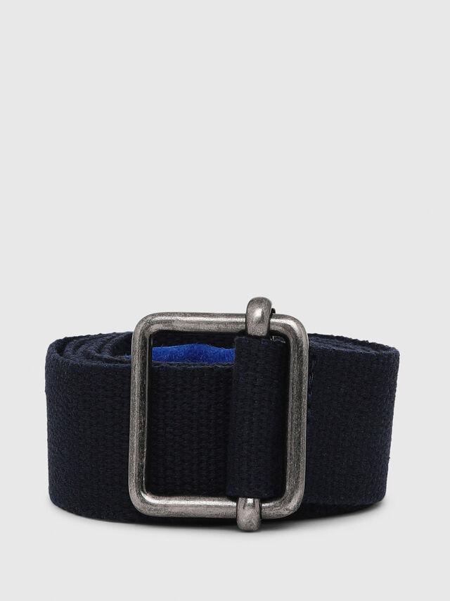 Diesel - B-CEGGIA, Black/Blue - Belts - Image 1