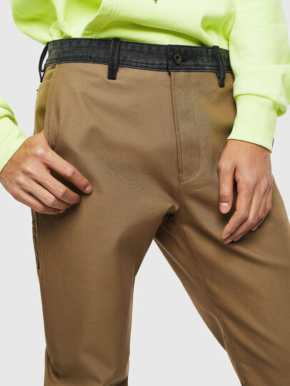 Diesel - P-KAPP, Brown/Black - Pants - Image 3