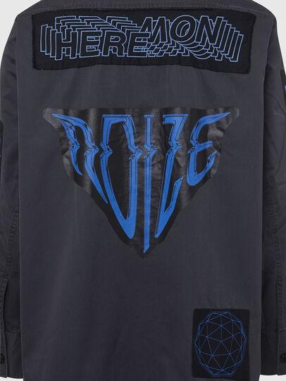 Diesel - S-MARCUS, Dark grey - Shirts - Image 5
