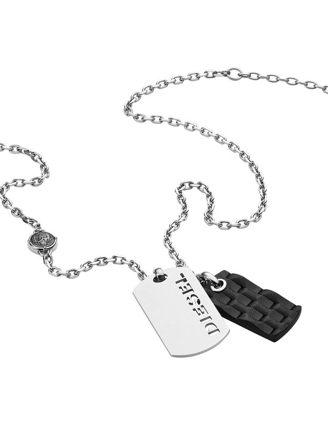 NECKLACE DX1014, Silver