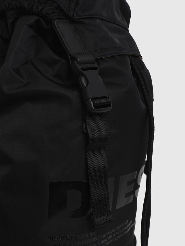 Diesel - F-SUSE BACK, Black - Backpacks - Image 4