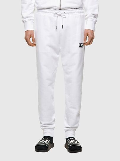 Diesel - P-TARY-ECOLOGO, White - Pants - Image 1