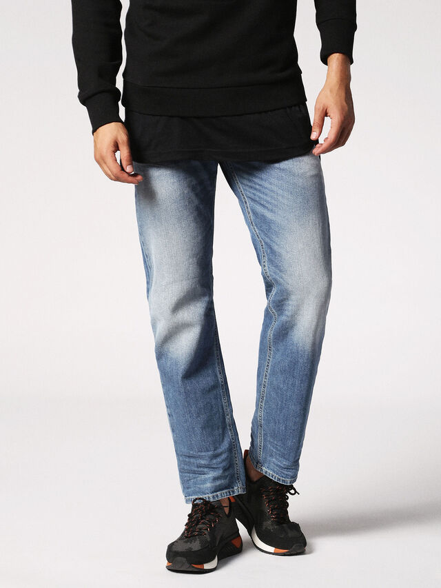 Diesel - Waykee 0842H, Light Blue - Jeans - Image 1
