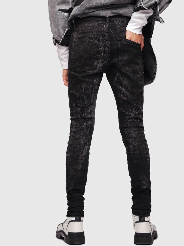Diesel - D-Istort 069DE, Black/Dark grey - Jeans - Image 2