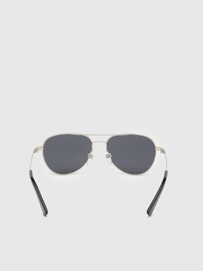 Diesel - DL0291, Silver/Black - Kid Eyewear - Image 4