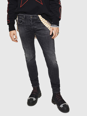 Sleenker 084AT, Black/Dark grey - Jeans