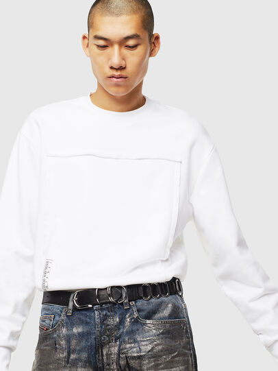 Diesel - S-BAY-RAW, White - Sweaters - Image 4