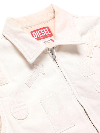 Diesel - GR02-J303, White - Denim Jackets - Image 3