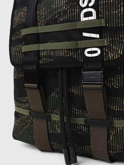 Diesel - VOLPAGO BACK, Green/Black - Backpacks - Image 4
