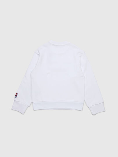 Diesel - SCREWDIVISION-D OVER, White - Sweaters - Image 2