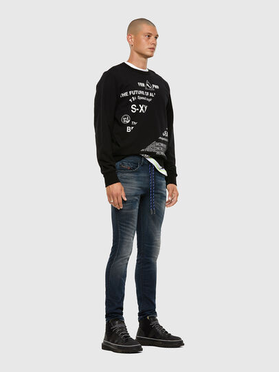 Diesel - Thommer JoggJeans® 069NT, Dark Blue - Jeans - Image 5