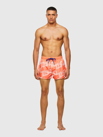 Diesel - BMBX-SANDY 2.017, Orange - Swim shorts - Image 1