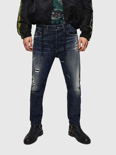 Diesel - D-Eetar 0890W, Dark Blue - Jeans - Image 1