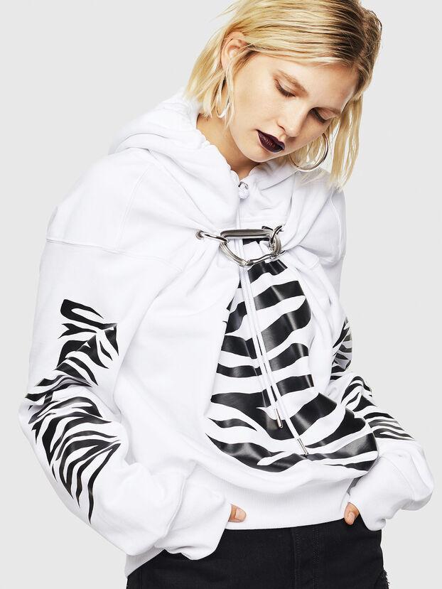 F-ALBYHOOK-C, White - Sweaters