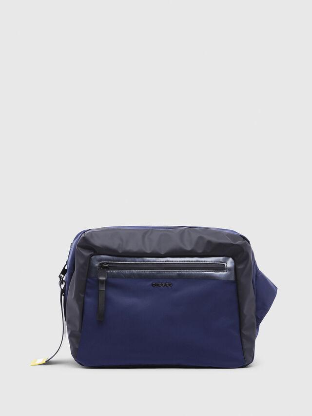 Diesel - VOLPAGO CROSSPLUS, Blue/Black - Crossbody Bags - Image 1